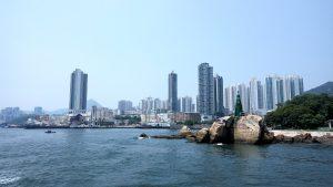 Вид на район Yau Tong
