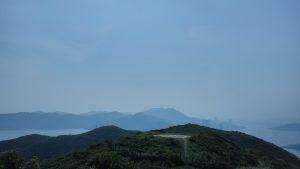 Вид на вертолетную площадку острова